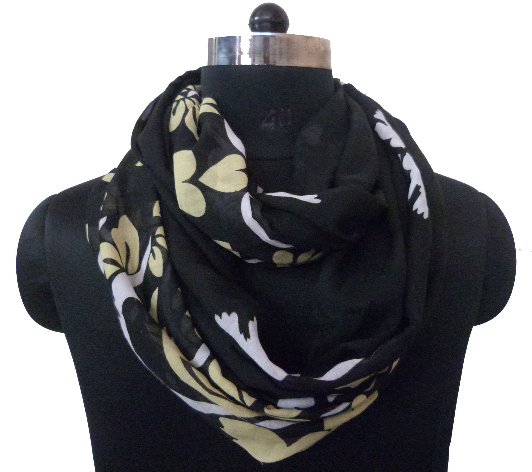 POLYESTER WOMAN SCARF